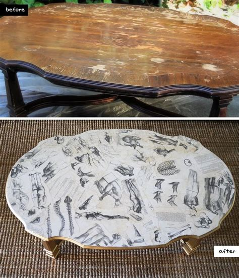 furniture decoupage ideas 17 best ideas about decoupage coffee table on
