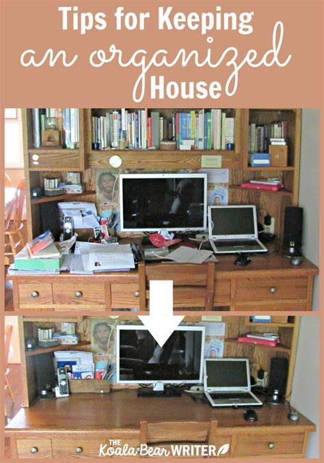 organizing the home tips for keeping an organized house without losing your