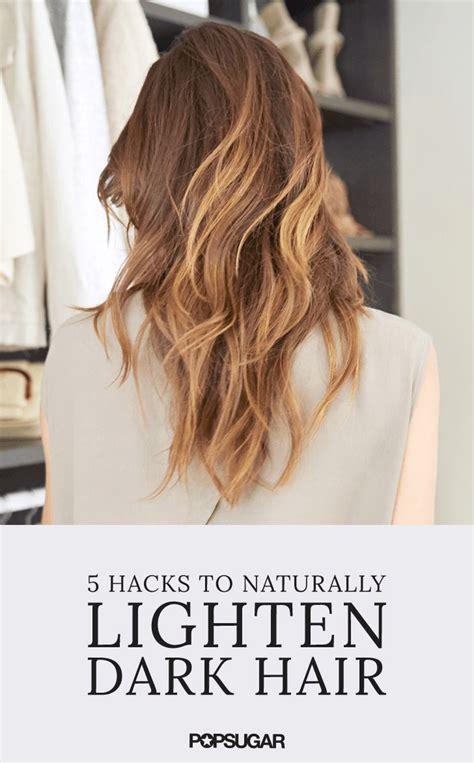 lighten you dyed black hair naturally best 25 lighten dark hair ideas on pinterest lighten