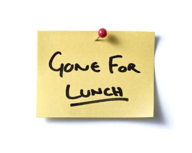 on break sign for desk best ways to make the most of your lunch break terra