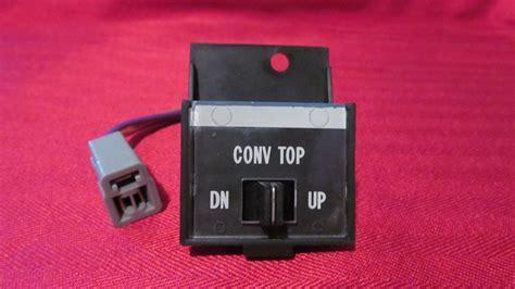1971 1972 1973 cadillac eldorado convertible top switch