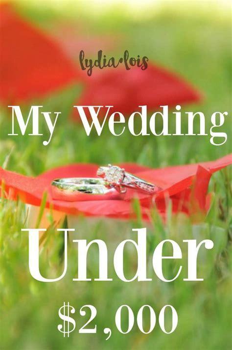 25  best ideas about Budget Wedding on Pinterest   Diy