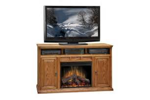 Electric Fireplace Tv Stand Legends Furniture Scottsdale Oak 62 Quot Electric Fireplace Tv Stand Made In The Usa The