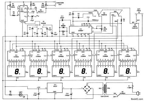 circuit diagram of function generator using icl8038