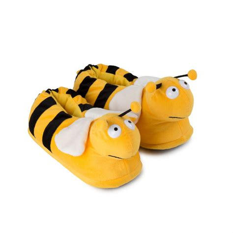 silly slippers plush slippers animal bee for adults and children