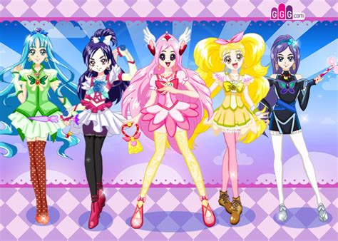 Gamis Pink 1 pretty cure three precure