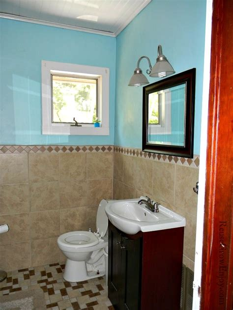 how much does a diy bathroom remodel cost frugal diy bathroom remodel reuse grow enjoy