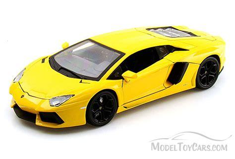 Lamborghini Model Cars Toys Lamborghini Aventador Lp700 4 Yellow Bburago 11033 1