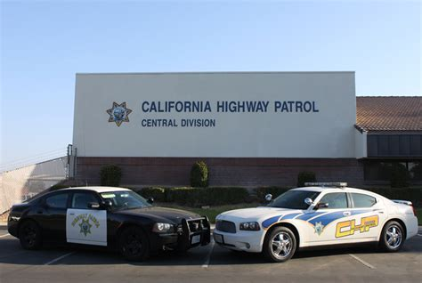 California Highway Patrol Offices by Central Division