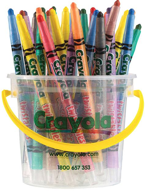 crayola twistable crayons assorted colours 32pk