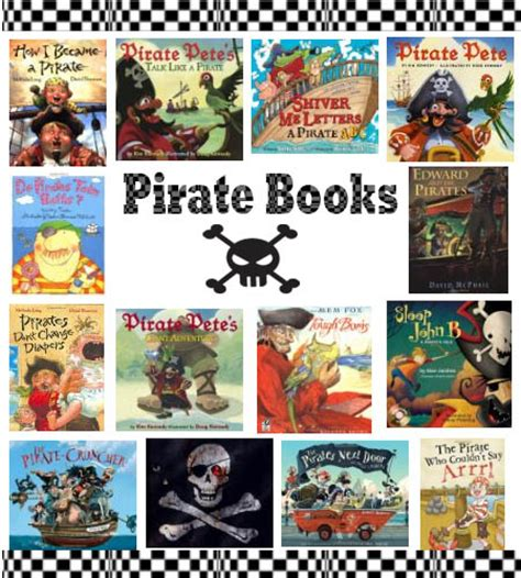 pirate picture books preschool and kindergarten activities and crafts