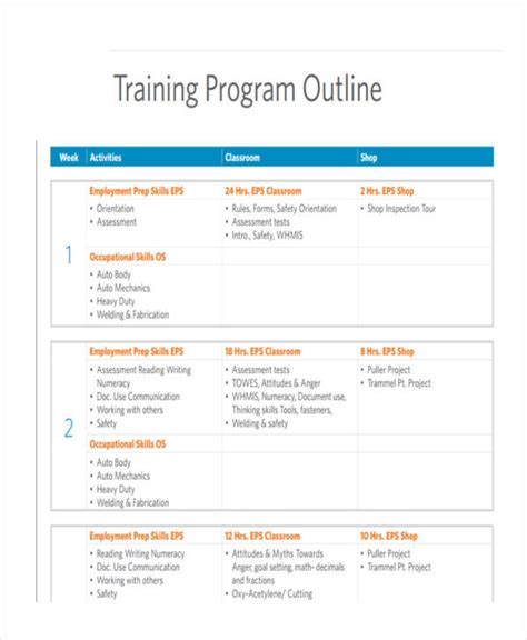 Print Journalism Course Outline by Outline Template Resume Template