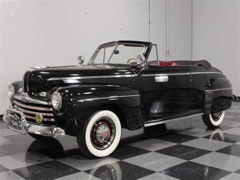 1946 ford deluxe convertible ford deluxe for sale hemmings motor news