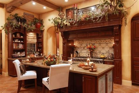 tuscany decorating ideas tuscan kitchens images home christmas decoration