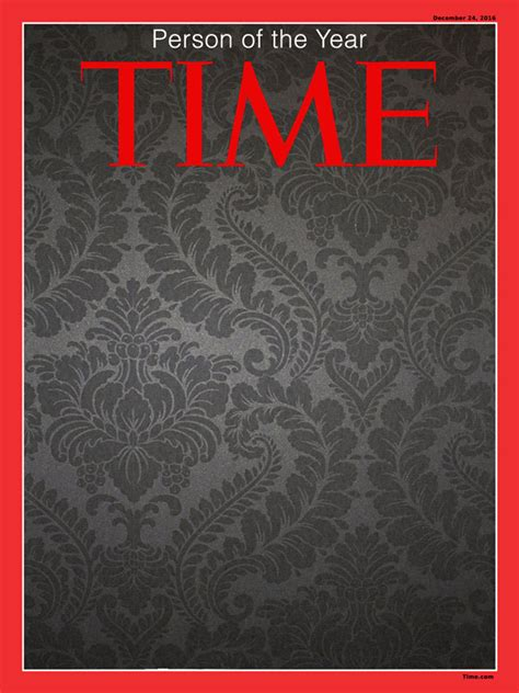 Time Person Of The Year Template