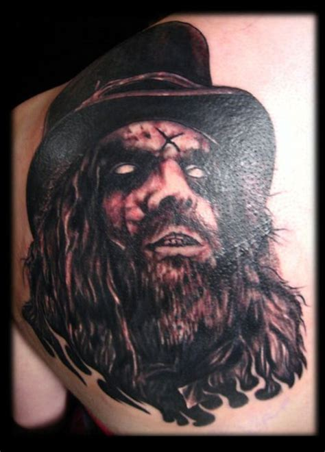 rob zombie tattoos rob bad tattoos