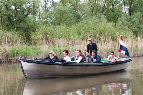 roeiboot biesbosch sloep of bootje huren in de biesbosch diepstraten