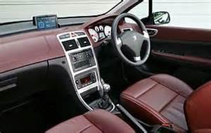 Peugeot 307 Cc Interior Car Reviews Peugeot 307 Feline The Aa