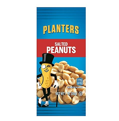 planters salted peanuts planters peanuts salted 1 ounce bags pack of 144 ebay