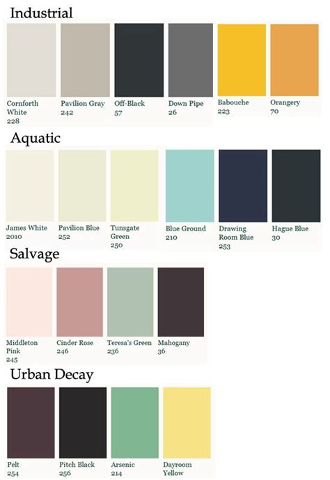 farrow and paint colour schemes jpg 550 215 800 pixels walls the o jays the