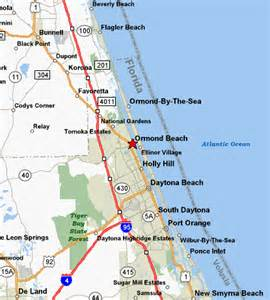 Palm Coast Florida Map by Palm Coast Florida Maps