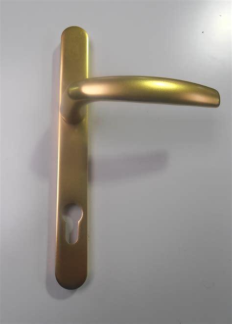 Gold Door Handles by Trade Windows Ltd Upvc Windows Doors Conservatories