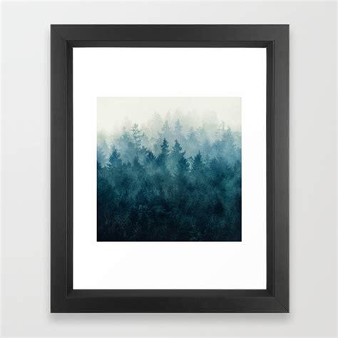 in framed artwork nature framed prints society6