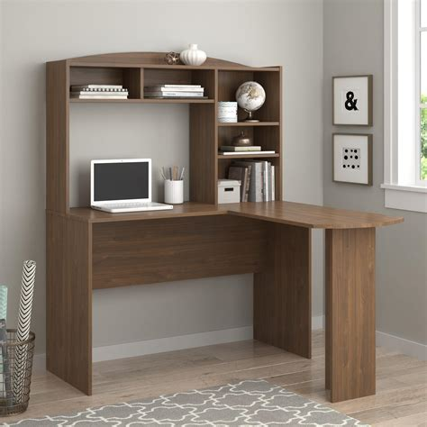 Sutton L Shaped Desk Upc 029986988324 Sutton Walnut L Desk With Hutch Upcitemdb