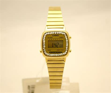 casio dorato piccolo orologio donna casio ref 3191 la670wga 9df dorato
