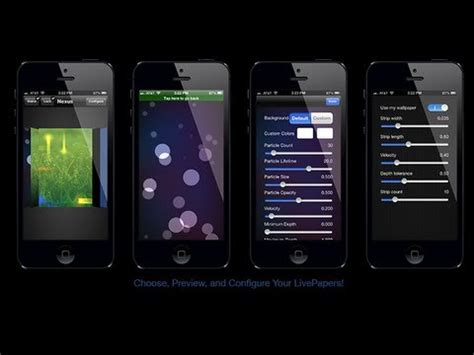 wallpaper for all apple devices live wallpapers with livepapers cydia tweak for all apple