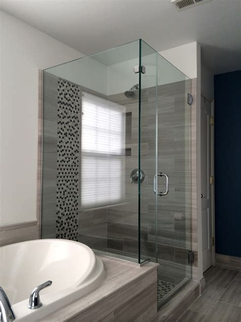 corner shower doors frameless frameless corner shower enclosures