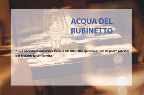analizzare acqua rubinetto aprire un ristorante in italia regole pazze dissapore