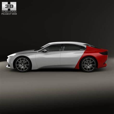peugeot 2014 models peugeot exalt 2014 3d model hum3d