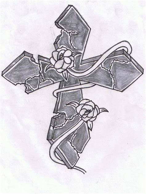 cross with rose vine tattoo cross with a vine photos for