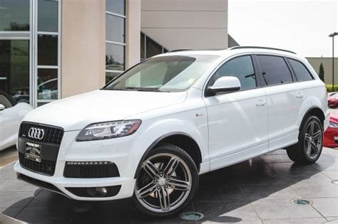 audi q7 pre owned pre owned 2014 audi q7 3 0t s line prestige sport utility