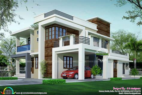 House design contemporary model   Kerala home design and