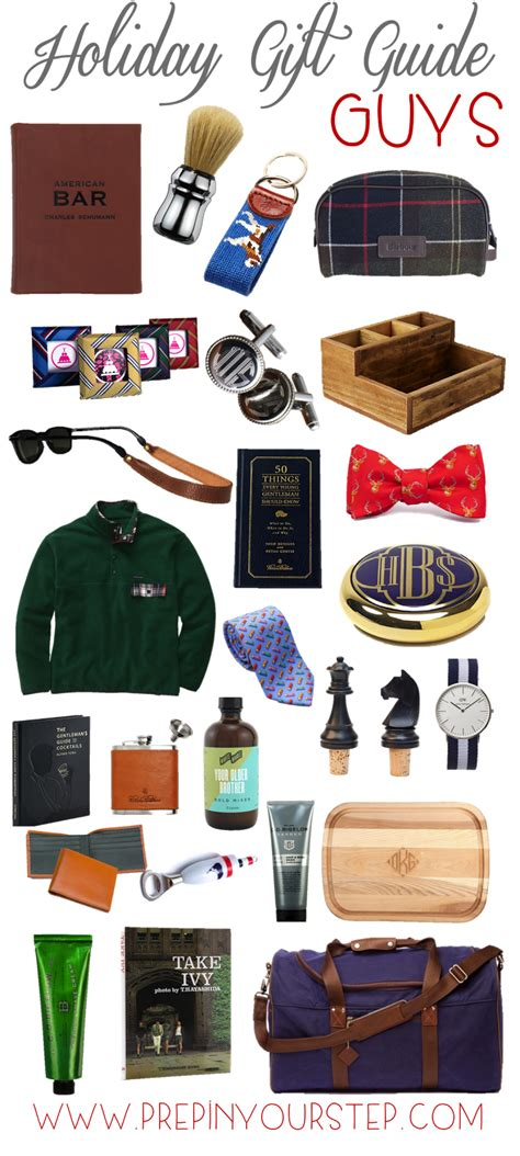 prep in your step holiday gift guide guys