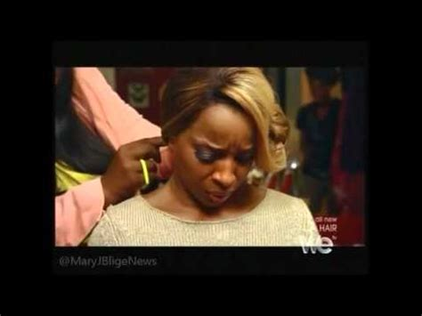 mary j natural hair mary j blige on l a hair youtube