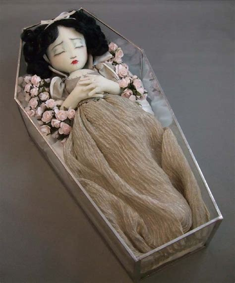 frozen doll coffin snow white in coffin doll dolls