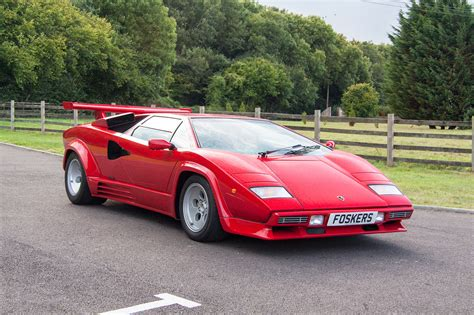 how cars run 1990 lamborghini countach auto manual 1988 lamborghini countach countach 5000qv classic driver market