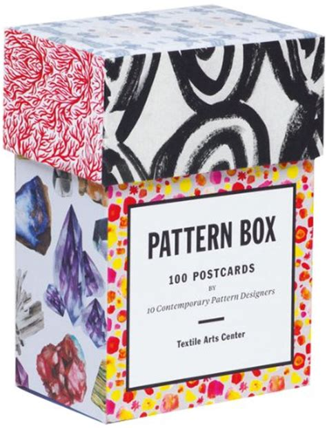 pattern box 100 postcards 1616891882 pattern box 100 postcards by ten contemporary pattern designers toolfanatic com