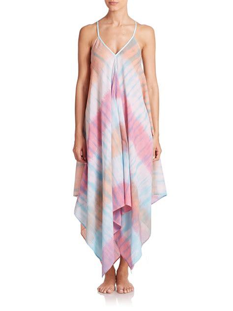 Dress Scarf roberta roller rabbit tie dye scarf dress lyst