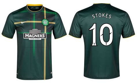 Celtic Away 20142015 seconda maglia celtic 2014 2015 nike sceglie il tartan