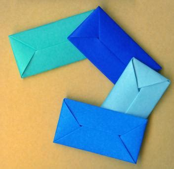 Origami Envelope Easy - upcycle recycle reuse envelope templates origami and more