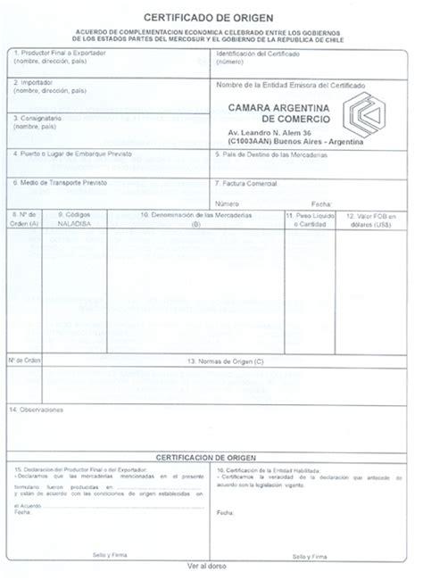 certificado de origen mexico newhairstylesformen2014com departamento de comercio exterior c 225 mara argentina de