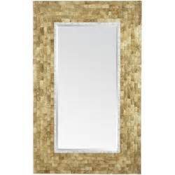 Pier One Floor Ls Pier One Gold Capiz Floor Mirror Pier 1 Imports Polyvore