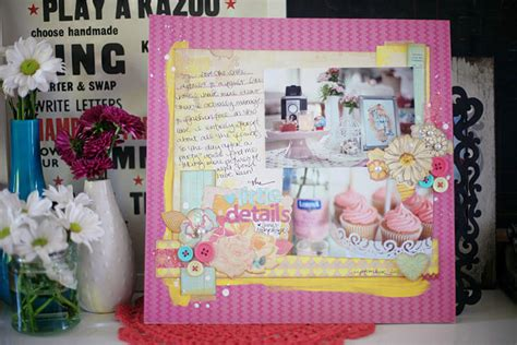 Baby Shower Scrapbook Pages by Paper Pretty Paper True Stories And Scrapbooking