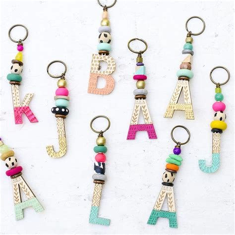 Handmade Keychain Ideas - 25 best ideas about handmade keychains on