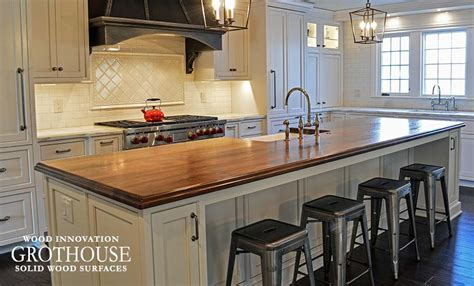 kitchen islands wood wood countertops butcher block countertop bar top images