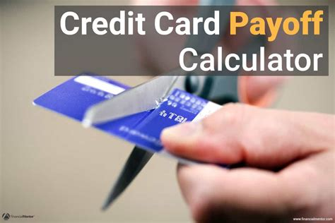 Credit Payoff Formula Credit Card Payoff Calculator How To Pay Credit Card